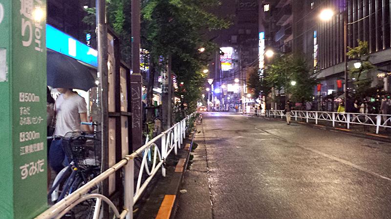 錦糸町JRAウィンズ脇ストリート