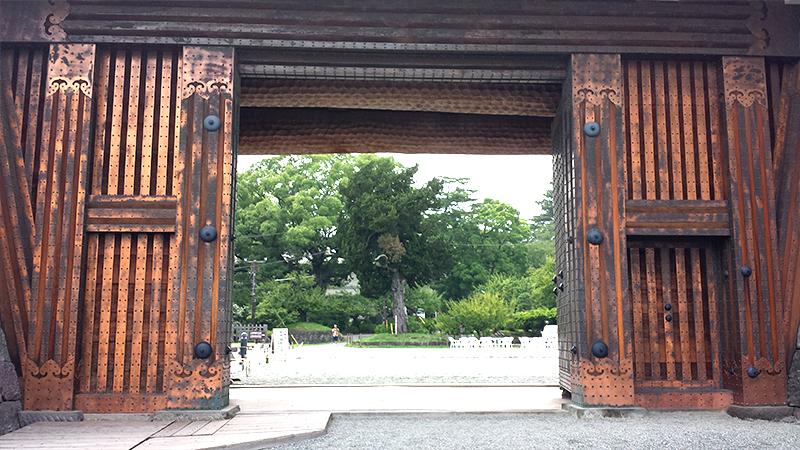 小田原城門