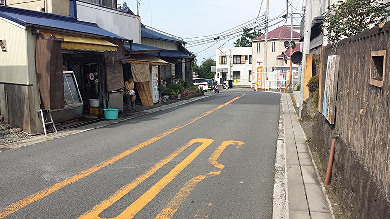 根府川駅前