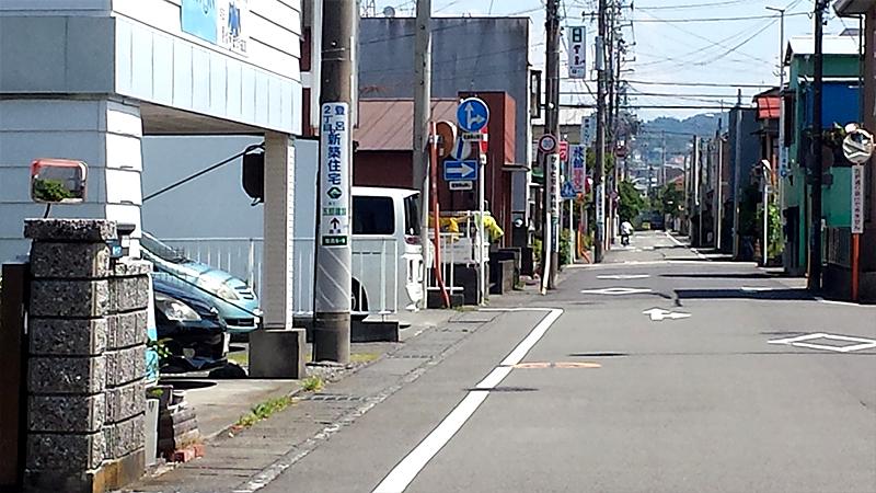 静岡市住宅街