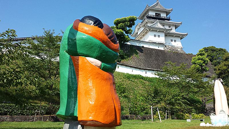 掛川城と現代アート