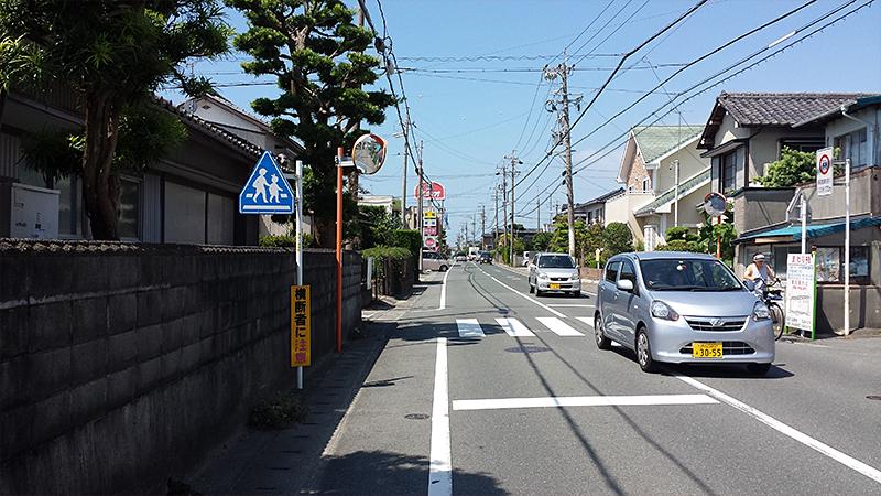 浜松から浜名湖へ旧東海道