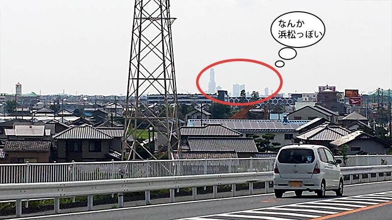 もしかして浜松市街?