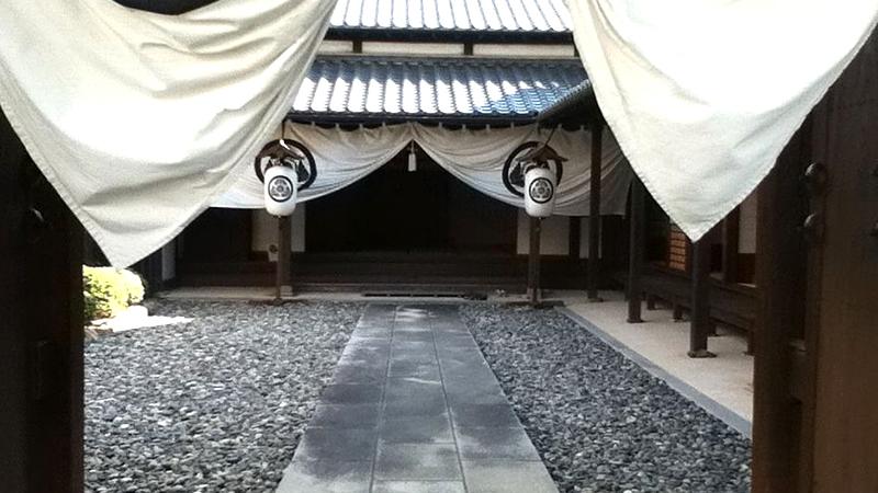 二川宿本陣玄関