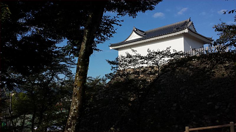 亀山城跡 多聞櫓