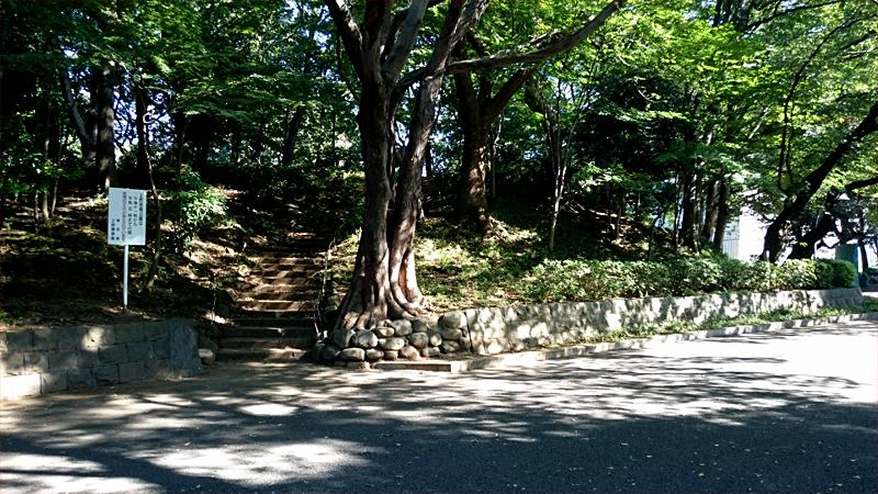 上野公園 摺鉢山古墳