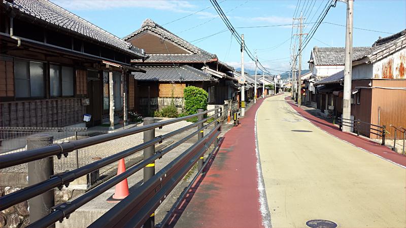 旧東海道 亀山宿