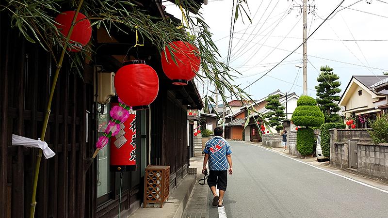 赤坂宿と祭り人