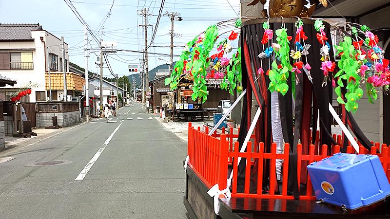 赤坂宿と山車