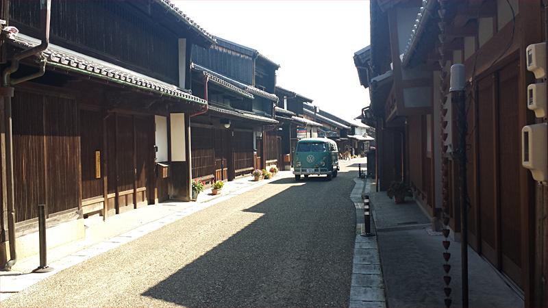 東海道 関宿の街並み
