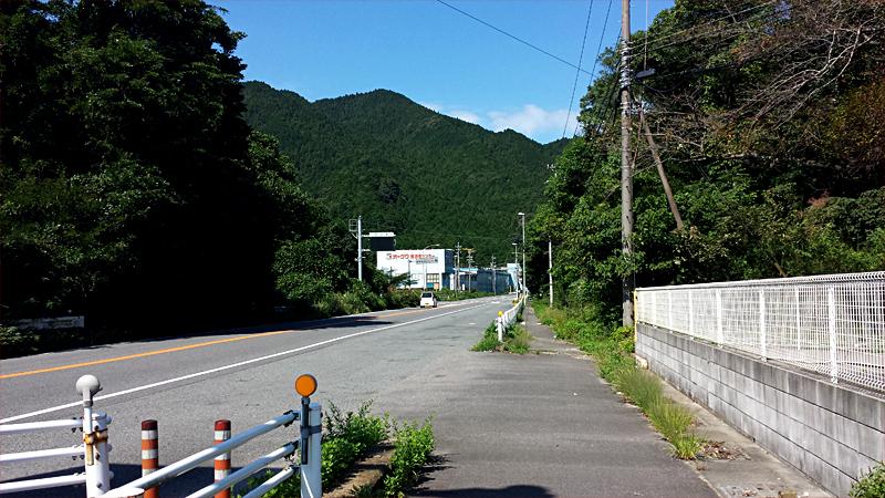 鈴鹿峠の峠道