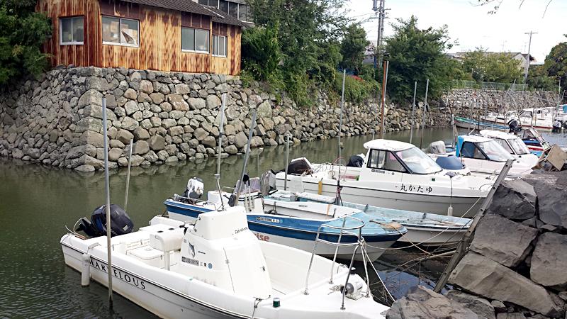 七里の渡し 桑名宿 船着き場