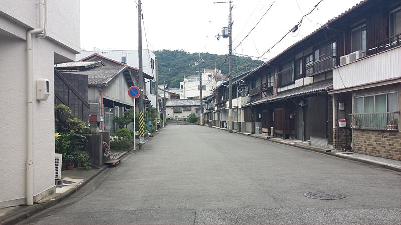 大津の古い街並み
