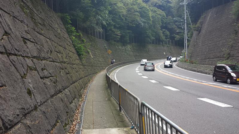 東海道の坂道