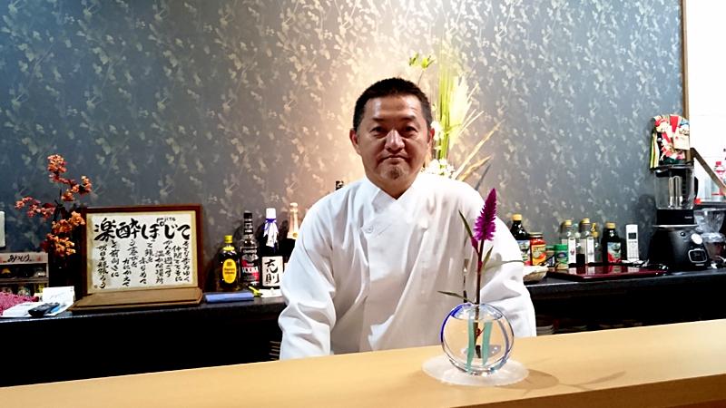 楽酔 ぽじて(pojite) 大将井本さん