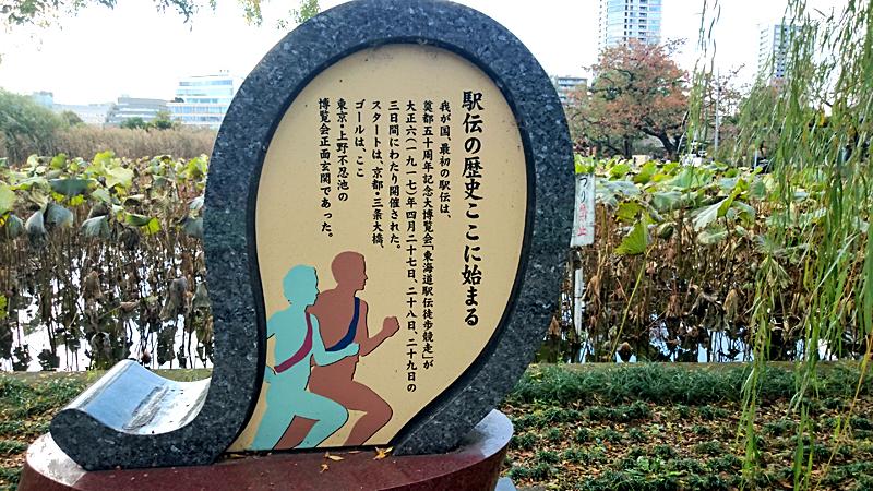 上野公園は駅伝発祥
