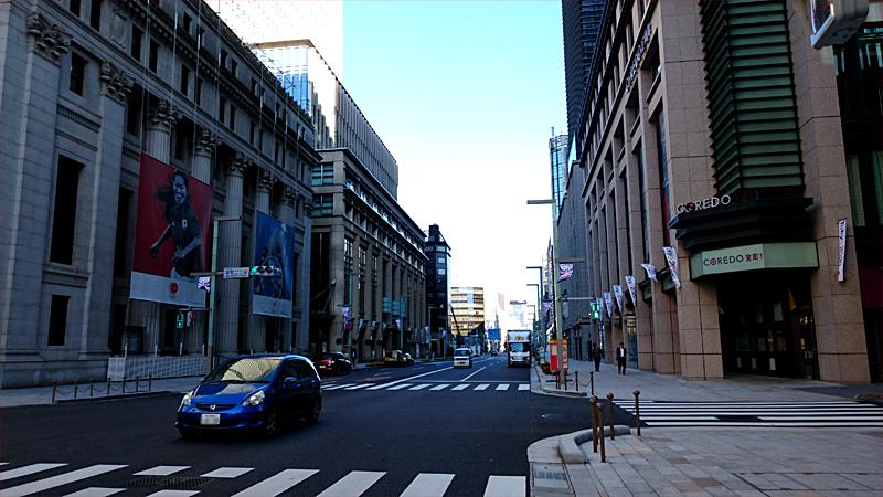 日本橋の街並み