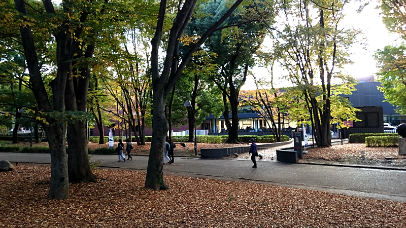 東京国立博物館と上野の森