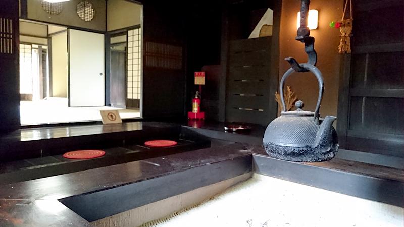 鷹見泉石記念館の囲炉裏