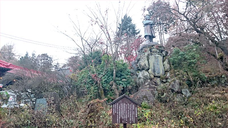 板垣退助の石像