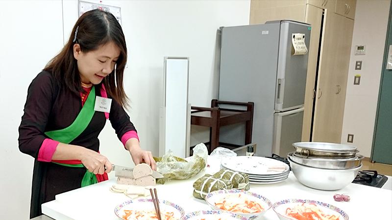 ベトアジ東京のボランティア Thuy Ngaさん