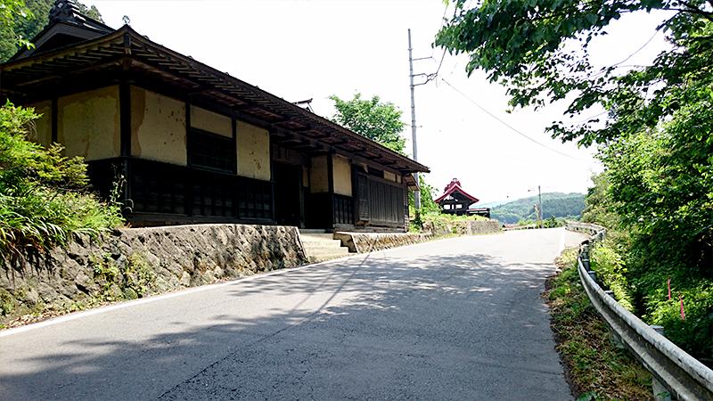 旧東山道の古民家