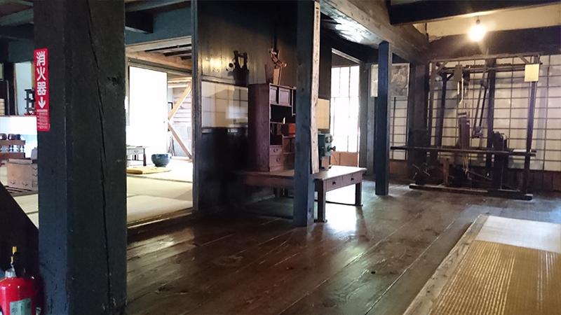 小原宿の清水本陣跡 内部