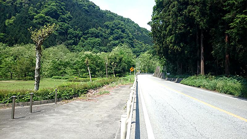 笹子峠の麓