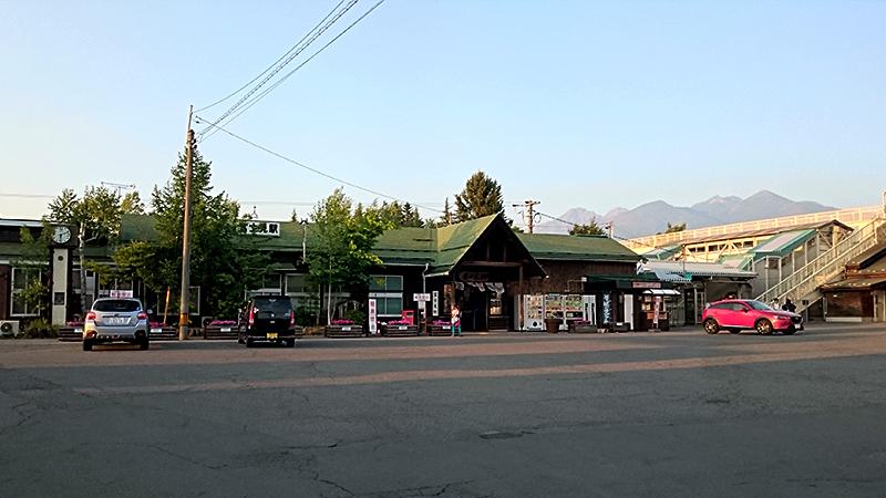 富士見駅と八ヶ岳