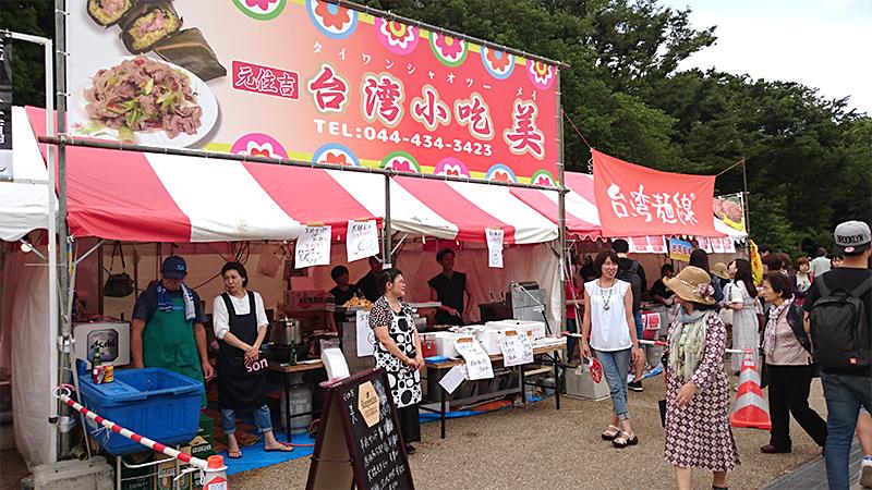 台湾麺線屋台