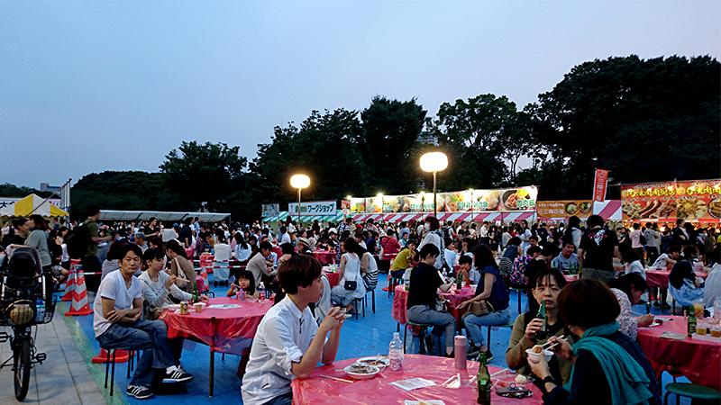 ビアガーデン in 台湾フェスティバル