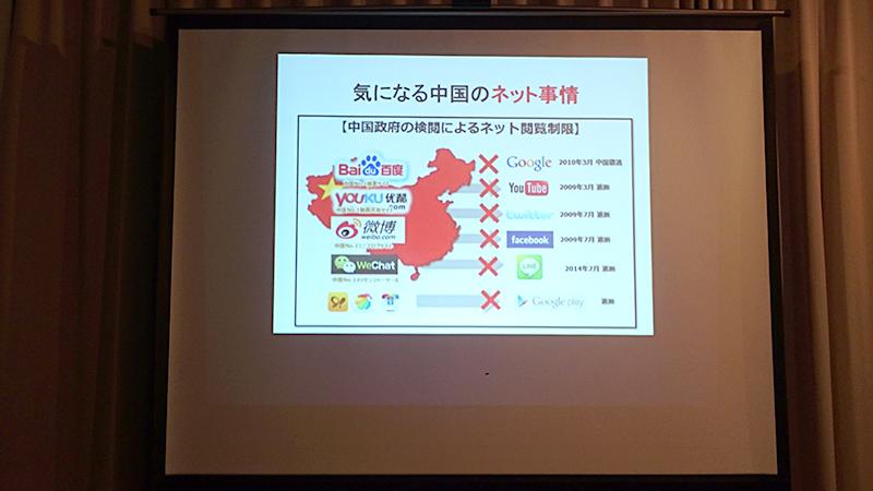 中国のインターネット事情
