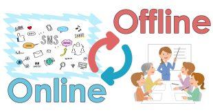 オンラインとオフラインのメディア活用